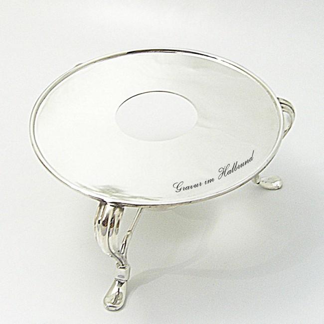Silber Stövchen SIEGBURG 925er Silber